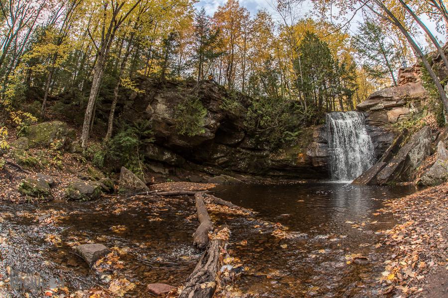Michigan Fall Color Tour - Hungarian Falls