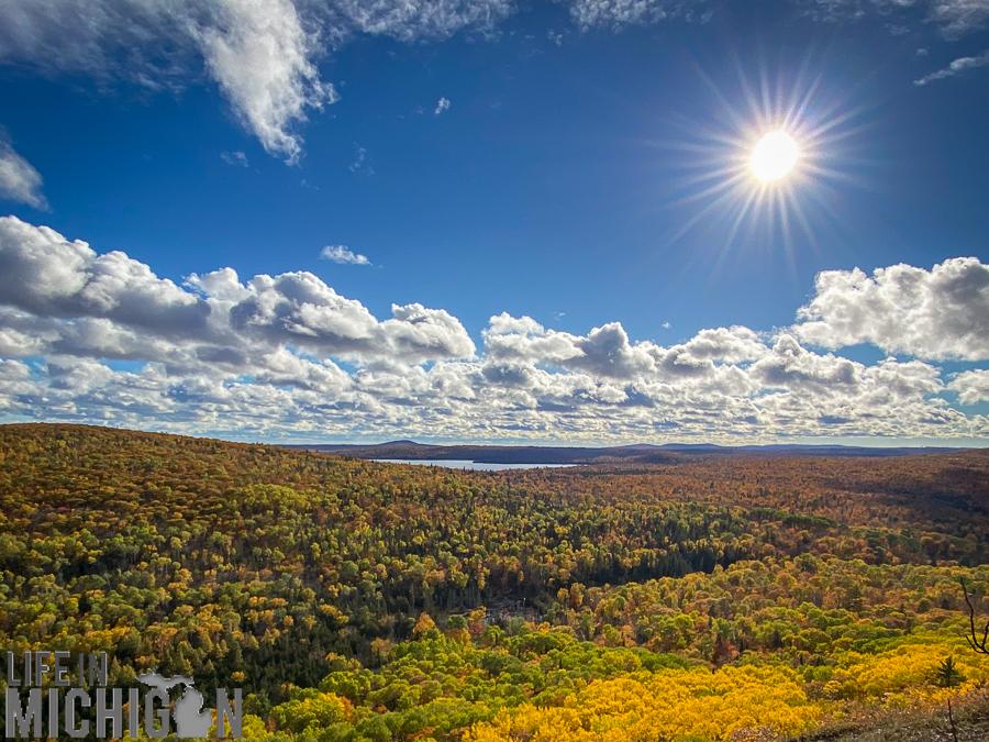 Michigan Fall Color Tour - Brockway Moutain Drive