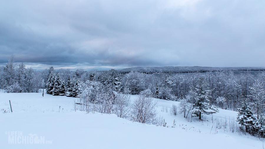 Pictured Rocks Snowshoe - U.P. Winter - 2014 -1