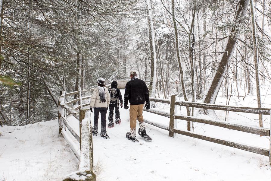 Pictured Rocks Snowshoe - U.P. Winter - 2014 - 18
