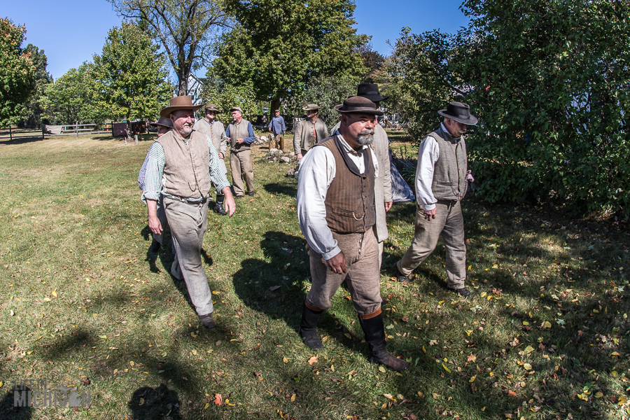 Pioneer Day at the Waterloo Farm Museum - 2017-15