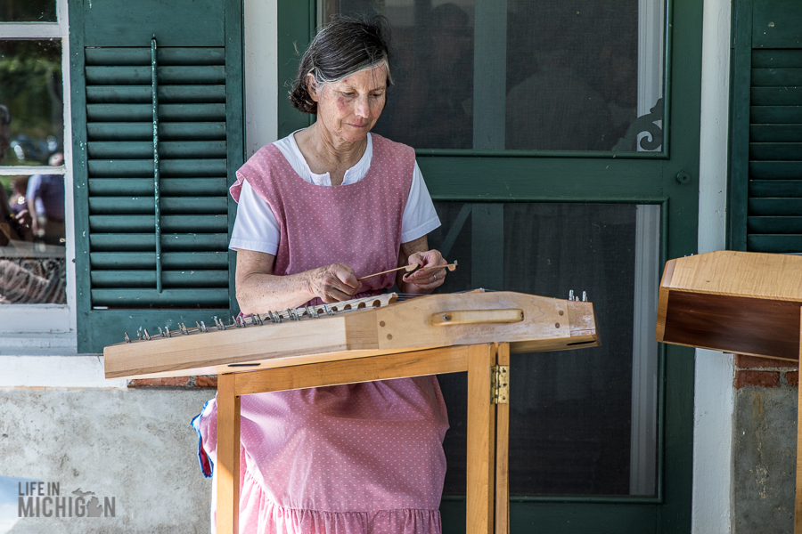 Pioneer Day at the Waterloo Farm Museum - 2017-32