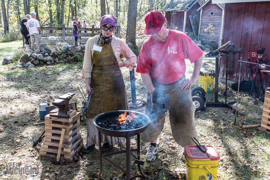 Pioneer Day at the Waterloo Farm Museum - 2017-73