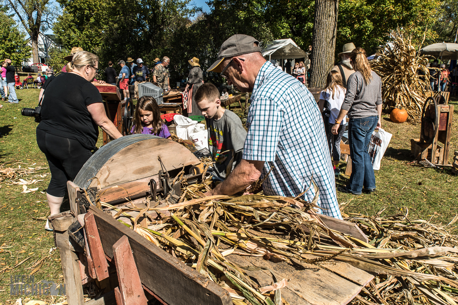 Pioneer Day at the Waterloo Farm Museum - 2017-80