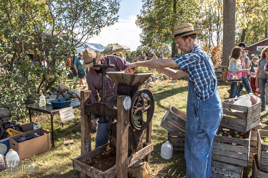 Pioneer Day at the Waterloo Farm Museum - 2017-91