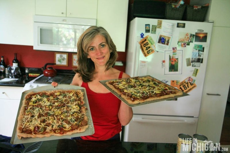 Michigan Made Pizza Ready to Eat