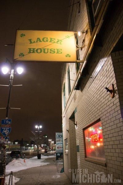 Outside of PJ's Lager House