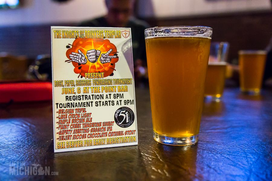 Rock Paper Scissors - Knights of the Drinker's Templar - Point Bar - 2015-3