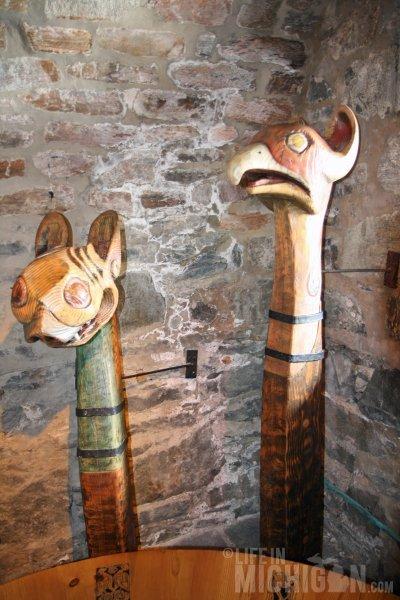 Viking relics at Eilean Donan Castle