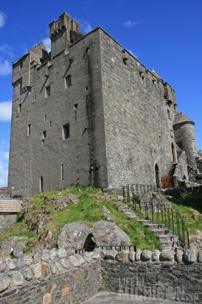 Eilean Donan outer wall