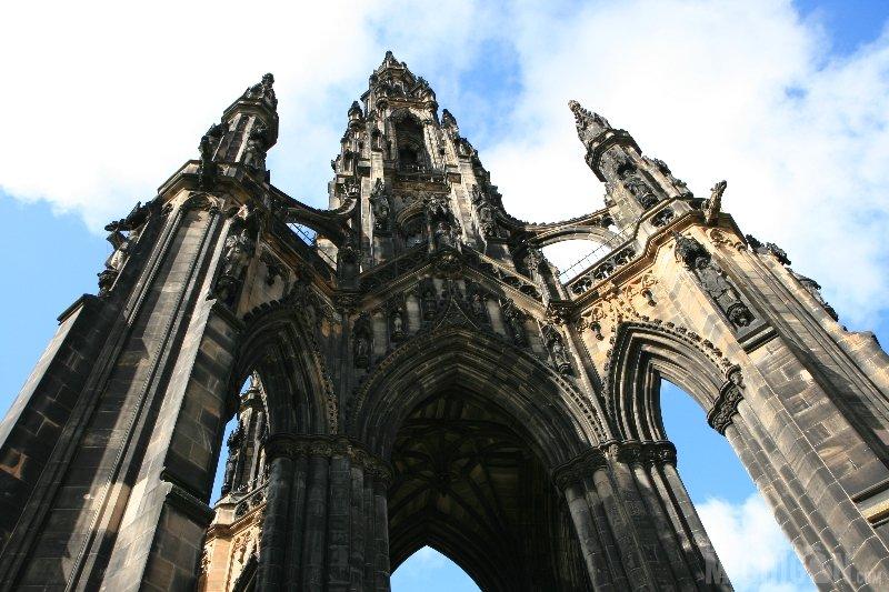 Scott Monument, Edinburgh Scotland