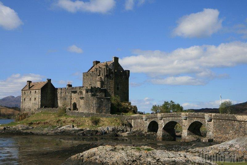 Eilean Donan Castle, Scotland, Western Highlands