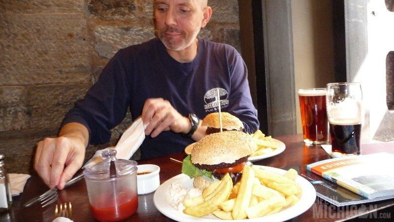 Vegan Food at the Albanach in Edinburgh Scotland