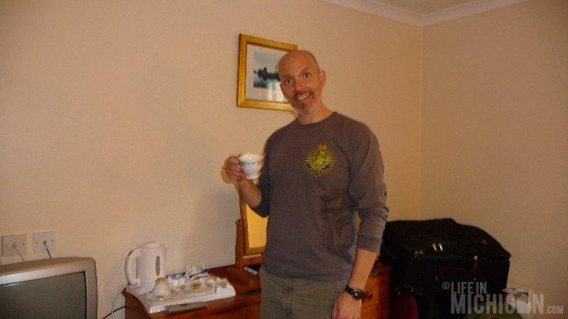 Chuck Marshall, Tea MacDonald Hotel