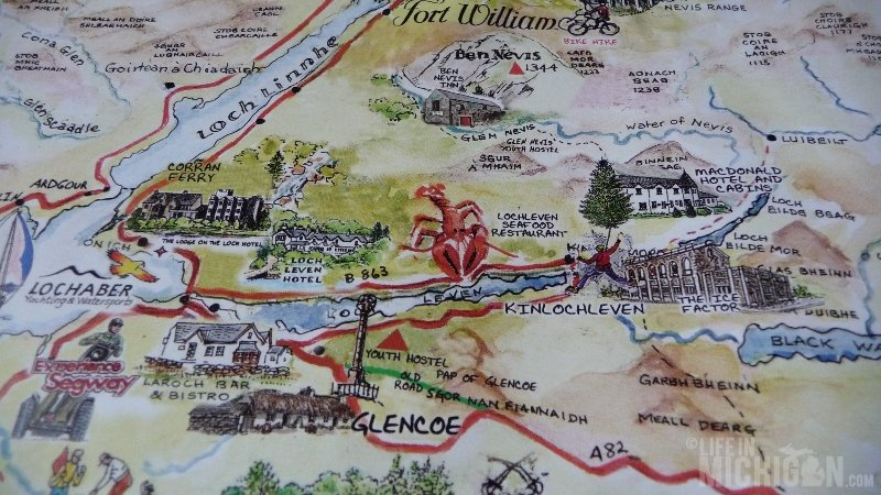 Kinlochleven Map