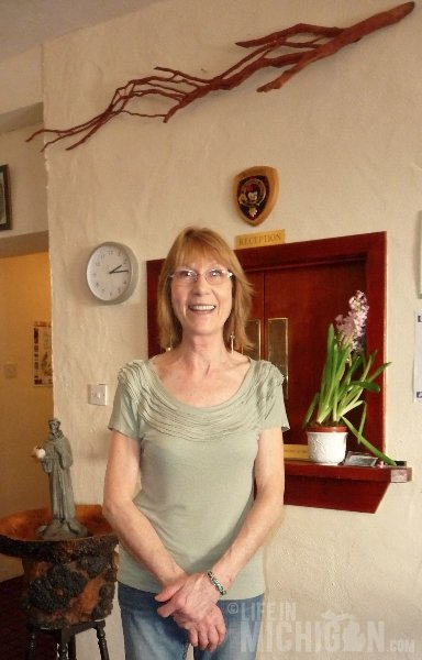 Frances, Inn Keeper at MacDonald House, Kinlochleven