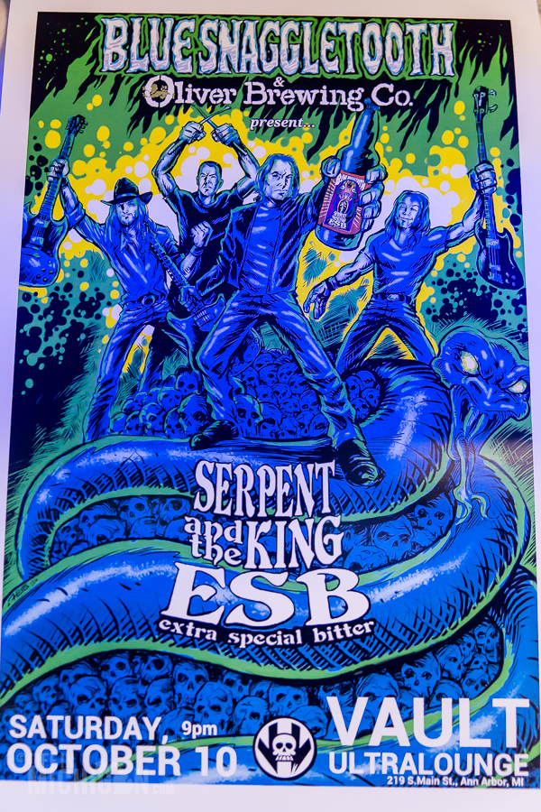 Blue Snaggletooth - Serpent and the King ESB release - 2015-17