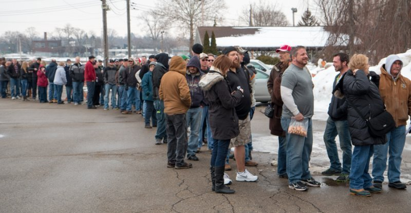 Lots of beer fans in Jackson