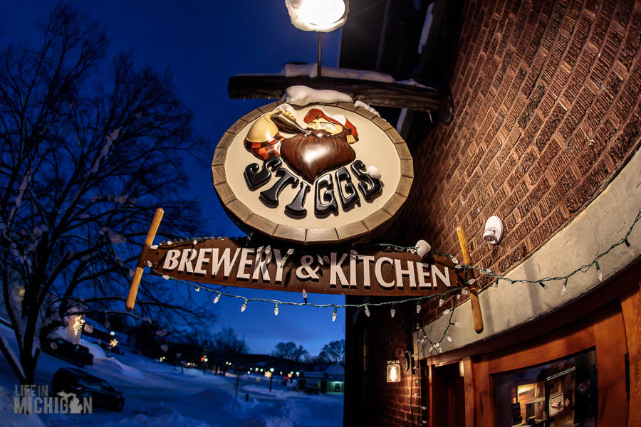 Stiggs Brewery & Kitchen in Boyne City