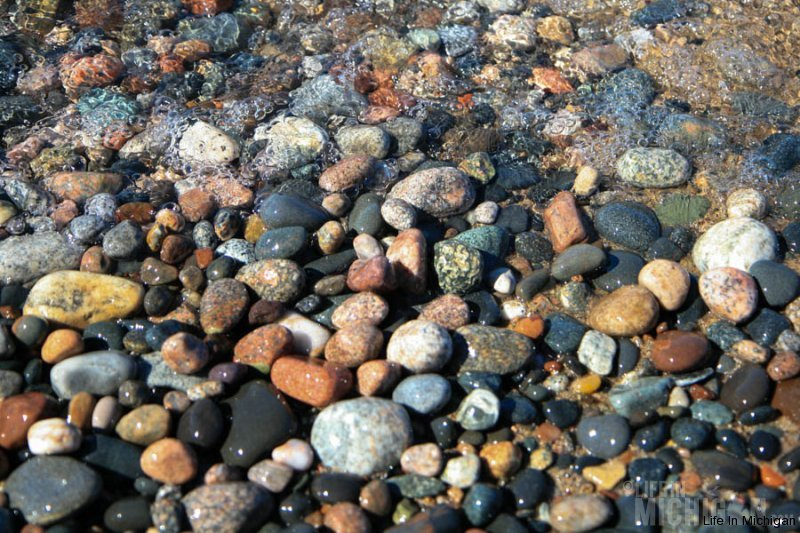 Rocks of Lake Superior at Grand Marais
