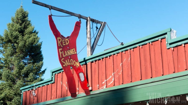 Red Flannel Saloon, Paradise Michigan