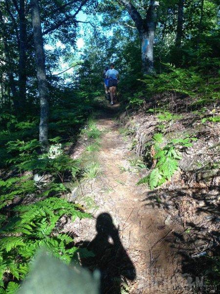 NPR coverage during a steep hill climb