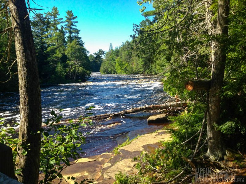 Beautiful Tahquamenon River
