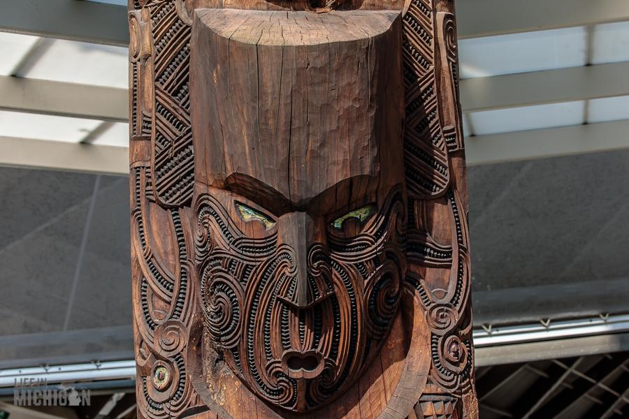 carving - Te Puia in Rotorua