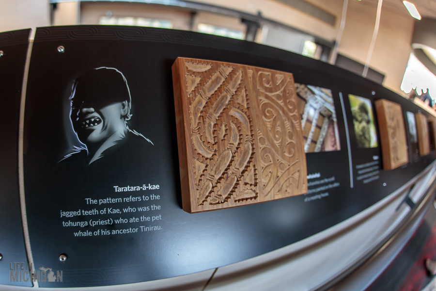 carving info - Te Puia in Rotorua