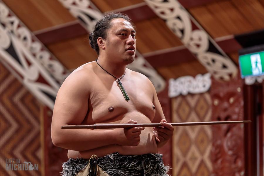 Dancer - Te Puia in Rotorua