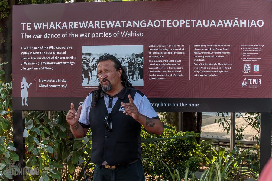 Paul - Te Puia in Rotorua