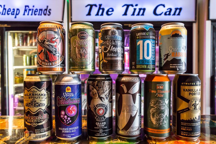 Tin Can Bar - Grand Rapids - 2015-16