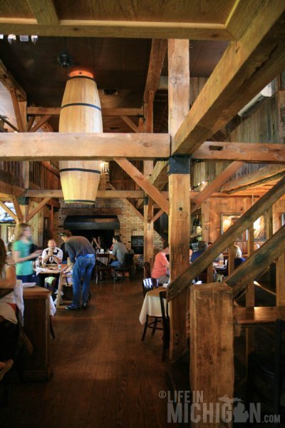 Rustic interior of Jolly Pumpkin