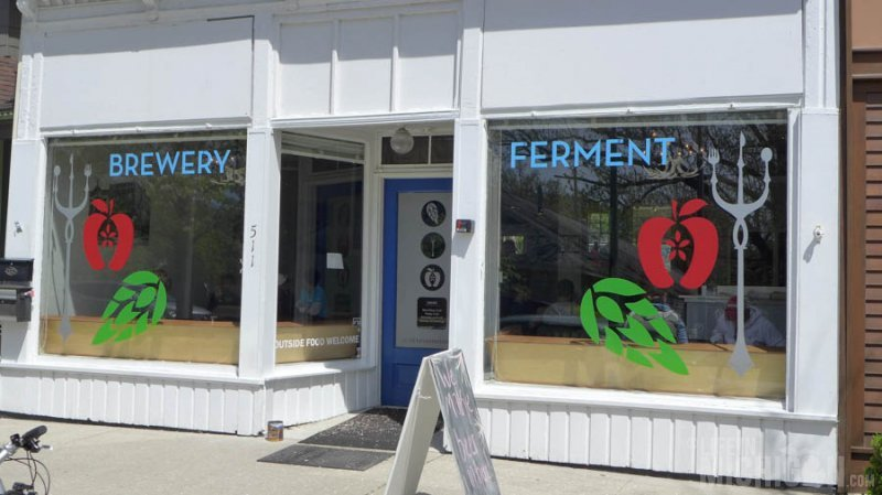 Outside Brewery Ferment