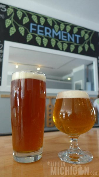 Fabulous beers at Brewery Ferment