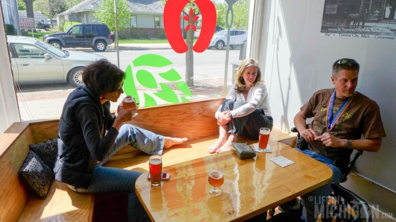 Happy friends at Brewery Ferment