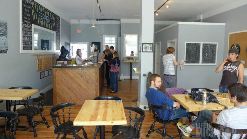 Warm space at Brewery Ferment
