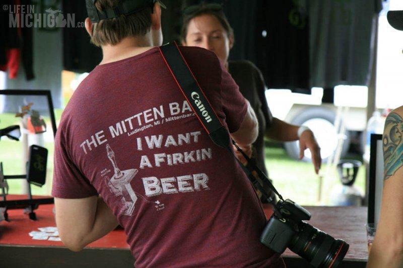 Nice shirt from the Mitten Bar