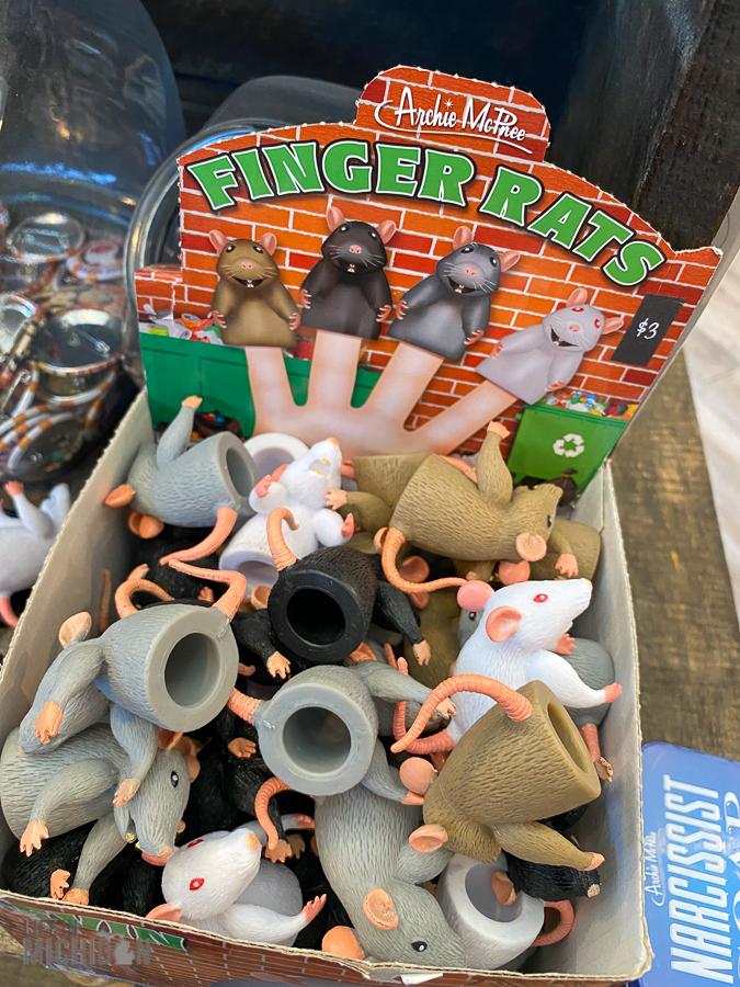 Greenbush - finger rats