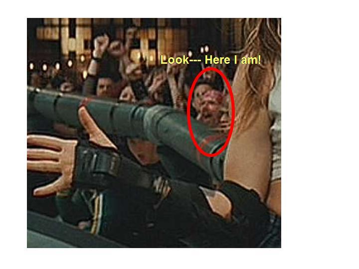 Chuck as a film star