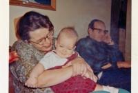A chunky Chuck as a baby