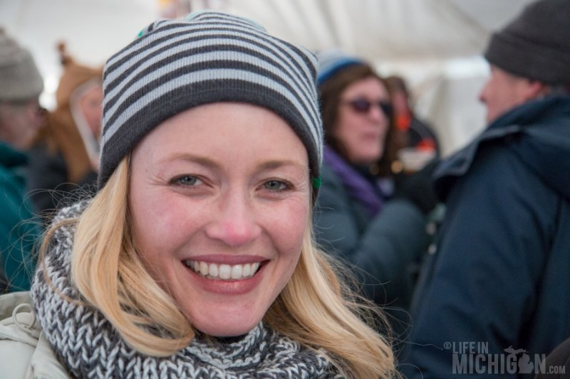 The famous Amy Sherman - Behind The Mitten