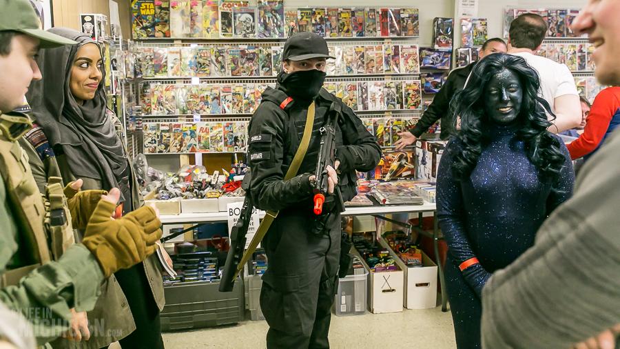 Ypsilanti - ComicCon - 2016-11