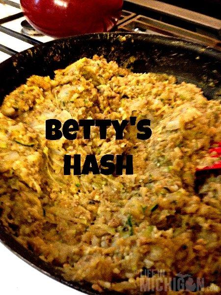 Bettys Zucchini Hash