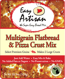 Michigan Company creates the best Pizza Crust Mix