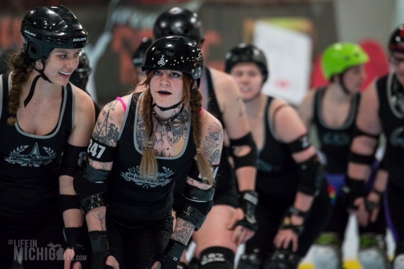 Roller Derby: Virgin Experience