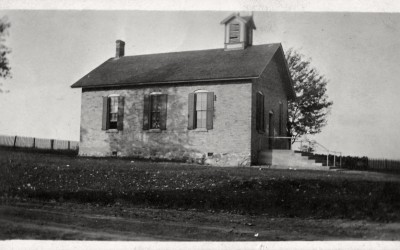 Ruth Lewick One Room School House 1912