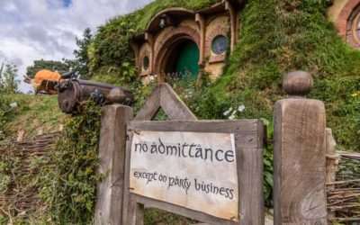 Journey to Hobbiton Movie Set