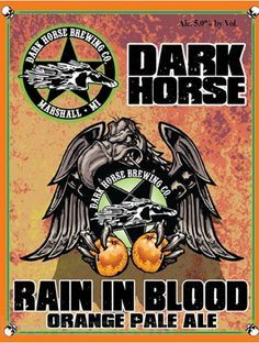 Dark Horse Rain In Blood Pale Ale