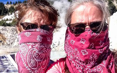 Hiking in Lassen Volcanic National Park 2014